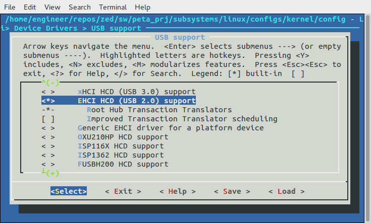 EHCI Root Hub Support